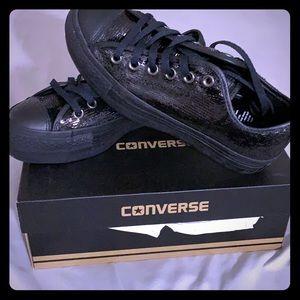 Chuck Taylor All Star Sequin Platform Shoes
